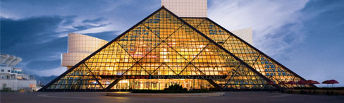 Rock and Roll Hall of Fame - Cleveland, Ohio, USA