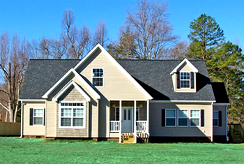 Example of a home built by Liberty Homes.